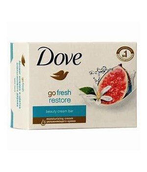 DOVE BAR SOAP GO FRESH RESTORE FIG  48/135GR (4.761OZ)