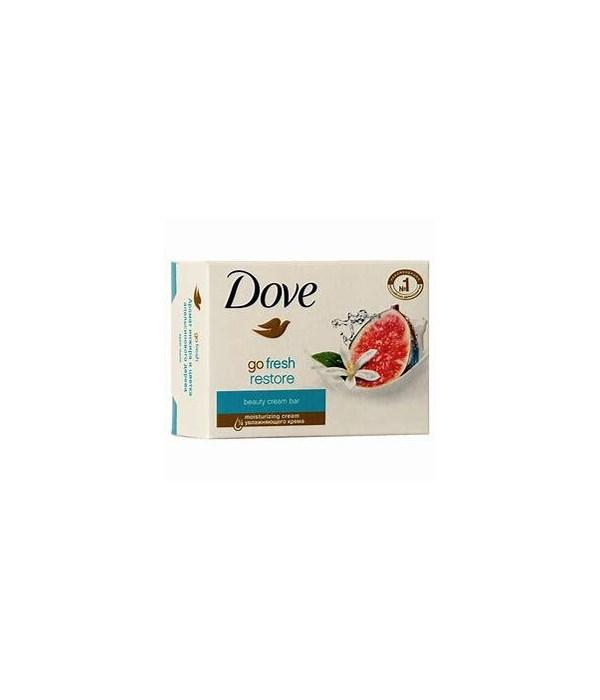 DOVE BAR SOAP GO FRESH RESTORE FIG  48/135GR (4.761OZ)