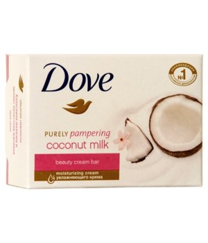 DOVE SOAP COCONUT MILK 48/135GR (4.761OZ)