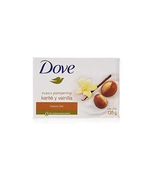 DOVE BAR SOAP SHEA BUTTER 48/135GR