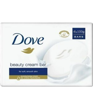 DOVE BAR SOAP 100GR BEAUTY CREAM 12/4PK