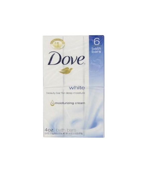 DOVE BAR SOAP WHITE (USA) 72/4OZ(12/6PK)