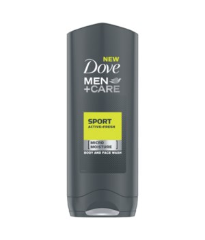 DOVE MEN+CARE BODY WASH COOL FRESH 12/400ML