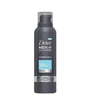 DOVE SHOWER MOUSSE CLEAN CONFORT 6/200ML