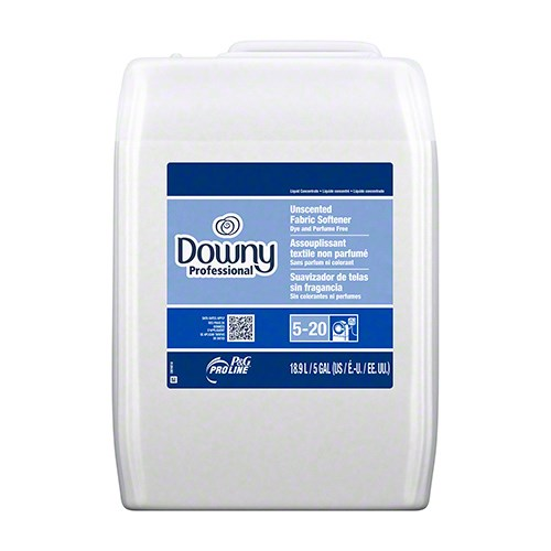 DOWNY FABRIC SOFTNER  PROFESSIONAL UNCENTED 5GL