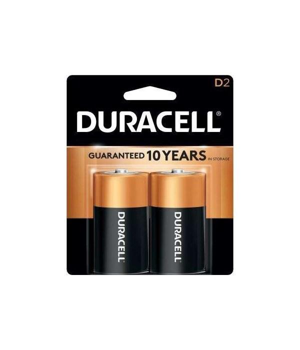 DURACELL DURALOCK D 12/2PK