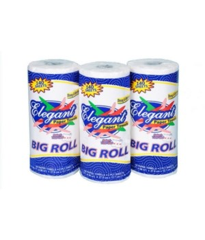 ELEGANT BIG ROLL PAPAER SELECT-SIZE  TOWELL 24/140CT
