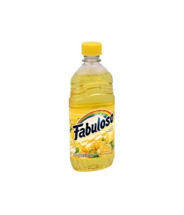 FABULOSO ALLPURPOSE CLEANER REFRESHING LEMON 24/16.9OZ