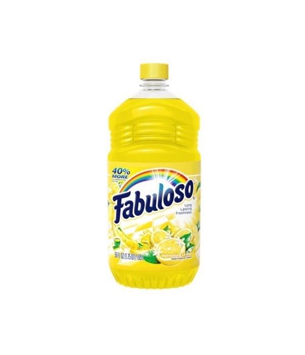 FABULOSO CLEANER LEMON 12/33.8OZ