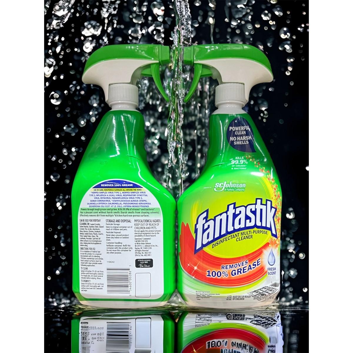 FANTASTIK ALL PURPOSE CLEANER FRESH SCENT  8/32OZ(71629)