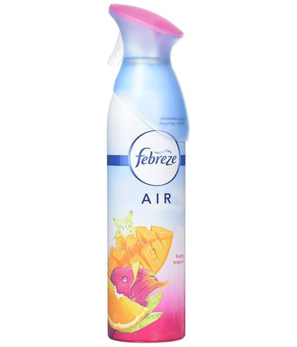 FEBREZE AIR EFFECT FRUITY TROPICS 6/300ML(71090)