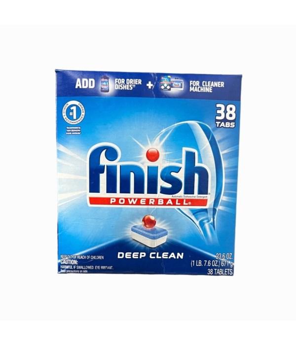 FINISH POWERBALL DEEP CLEAN 8/26CT
