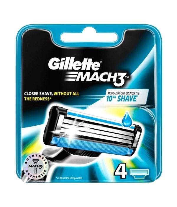 GILLETTE MACH 3 10/4