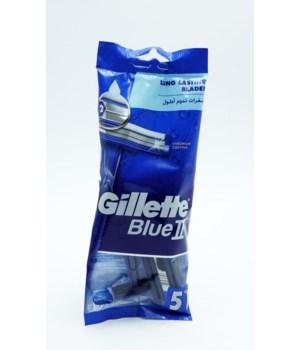 GILLETTE BLUE II PLUS 24/5PK