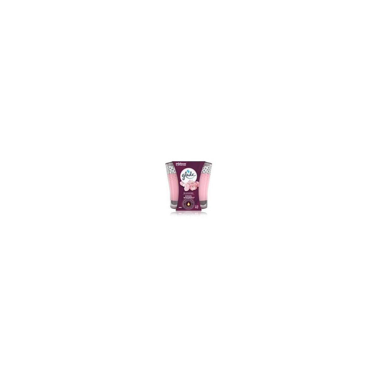 GLADE SCENTED CANDLES ANGEL WISPER 6/3.4OZ(76950)