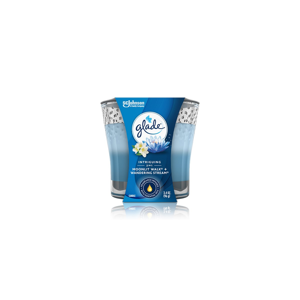 GLADE SCENTED CANDLES MOONLIT WANDERING 6/3.4OZ