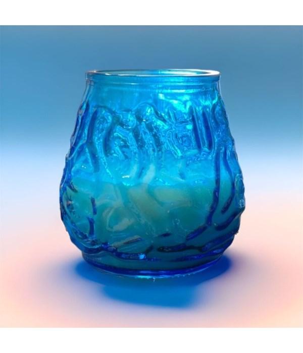 VENITIAN CANDLE BLUE 12/200GR