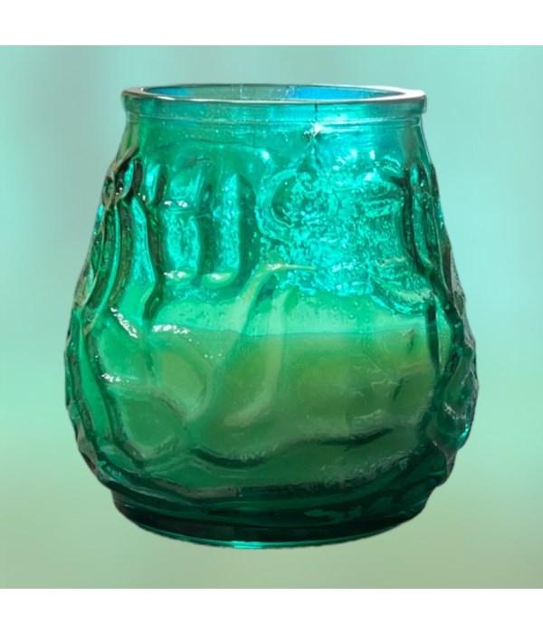 VENITIAN CANDLE GREEN 12/200GR