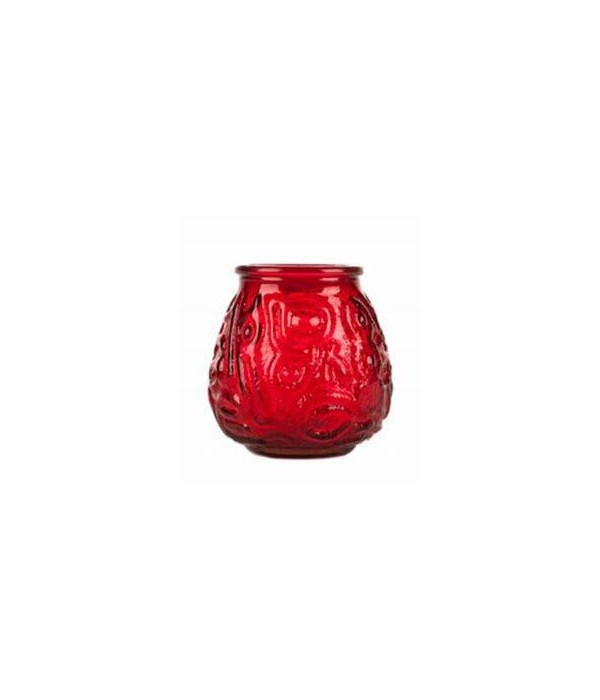 VENITIAN CANDLE RED 12/200GR
