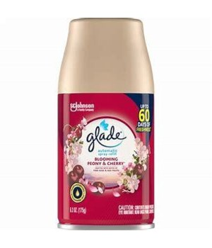 GLADE AUTOMATIC SPRAY REFILL BLOOMING CHERRIES 6/6.2OZ(76350)