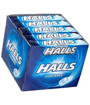 HALLS COOLWAVE 20CT EXP 05/07/22