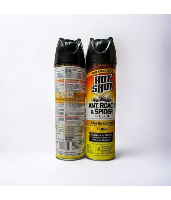 HOTSHOT ROACH&ANT KILLER LEMON  12/17.5OZ