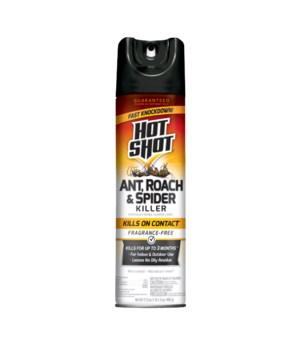 HOTSHOT ROACH,ANT&SPIDER KILLER FRAGANCE FREE 12/17.5OZ