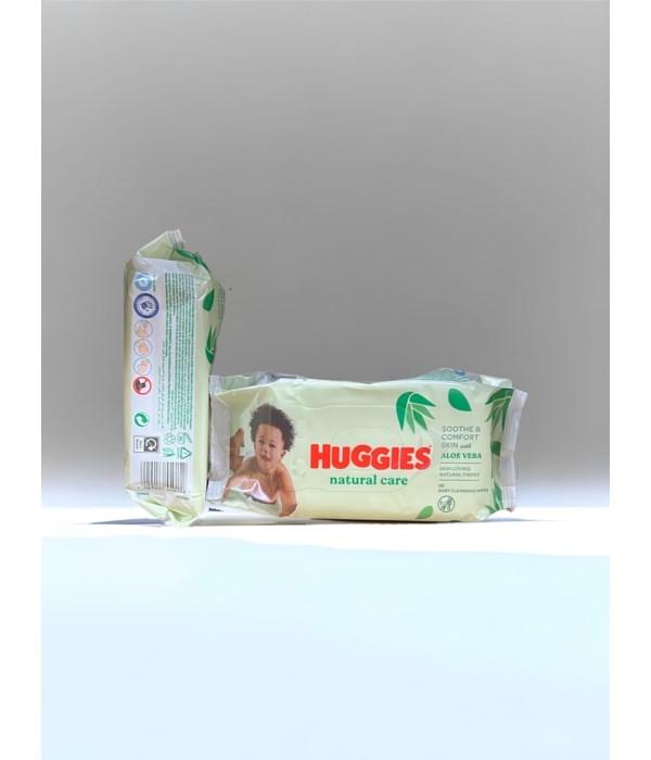 HUGGIES BABY WIPES NATURAL CARE 10/56CT(2430110)