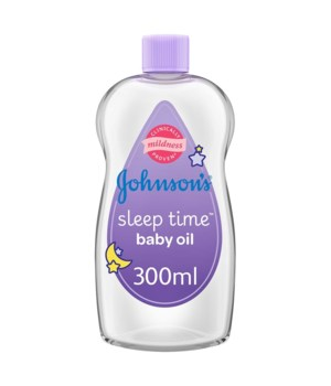 JOHNSONS BABY OIL BED TIME 12/300ML