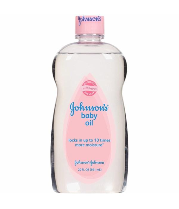 JOHNSONS BABY OIL 12/500ML