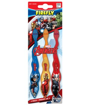 SUPERHEROES TOOTHBRUSH 6/3CT