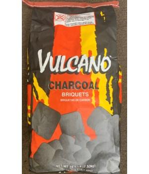 VULCANO CHARCOAL BRIQUETS 16.6LBS