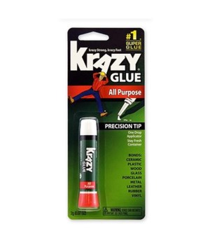 INSTANT ALL PPURPOSE  KRAZY GLUE 12/0.07OZ