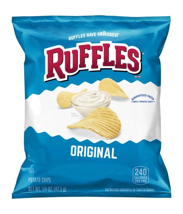 LAYS RUFFLES REGULAR 64/1.5OZ
