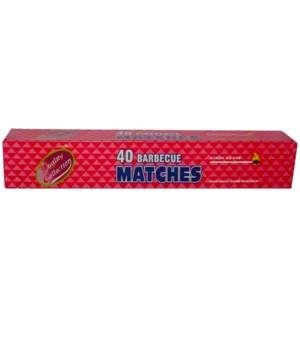 BBQ MATCHES 48/40CT(43002)