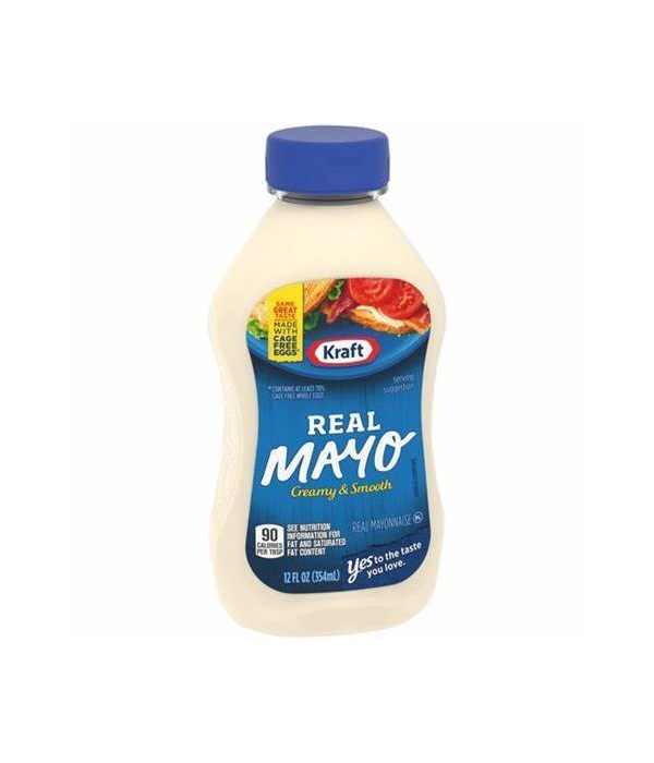 MAYONNAISE SQUEEZE 12/12 OZ