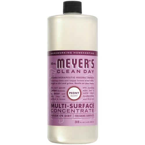 Mrs. MEYERS MULTI-SURFACE CONCENTRATE PEONY 6/32OZ