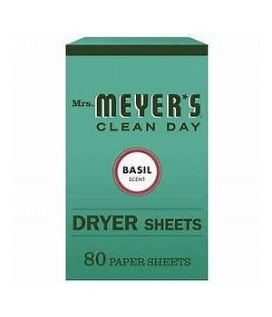 MRs.MEYE*S DRYER SHEETS BASIL 12/80CT