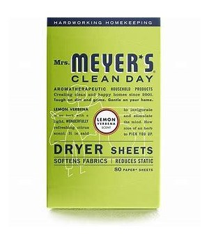 MRs.MEYER*S LEMON DRYER SHEETS 12/80CT