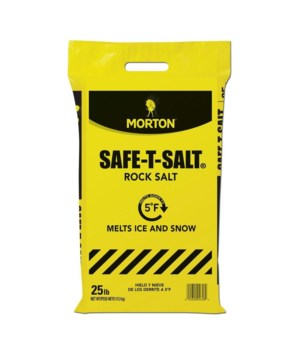 MORTON ICE MELT 25LB