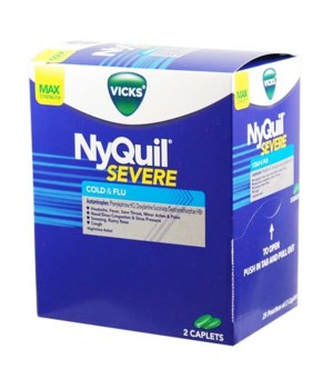NYQUIL COLD&FLUE DISPENSER 25/2PK
