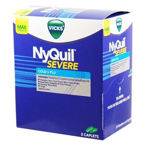 NYQUIL COLD&FLUE DISPENSER 25/2PK