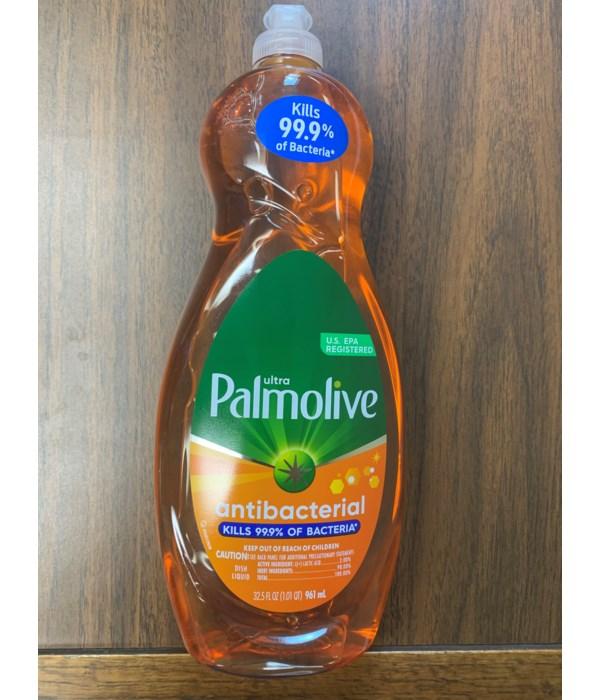 PALMOLIVE DISH WASHING ULTRA ORANGE 9/32.5OZ (4274A)