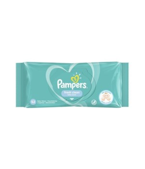 PAMPERS BABY WIPES FRESH CLEAN 12/52CT