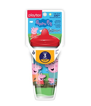 PLAYTEX 9OZ PEPPA PIG CUP 12/1CT