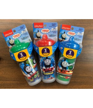 PLAYTEX 9OZ THOMAS TRAIN 1DZ