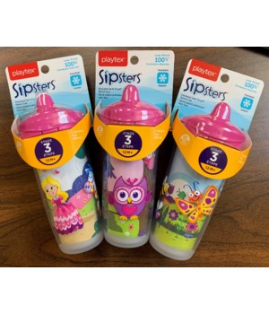 PLAYTEX STAGE 3 SPOUT CUP 9OZ 1DZ