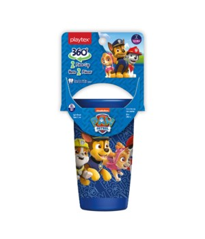 PLAYTEX 9OZ STAGE 3 PAW PATROL BOY SPOU CUP 12/9OZ