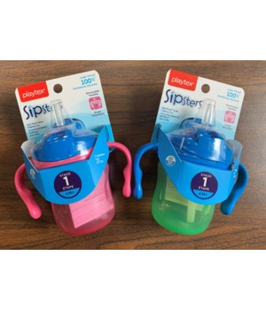 PLAYTEX STAGE 1 STRAW TRAINING CUP 1DZ