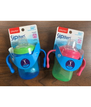 PLAYTEX STAGE 1 SPOUT TRAINING CUP 1DZ